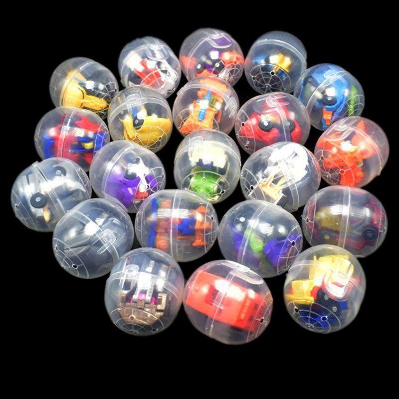 Mini Deformable Robot Surprise Eggs Surprise Ball Surprise Doll Gashapon Gift