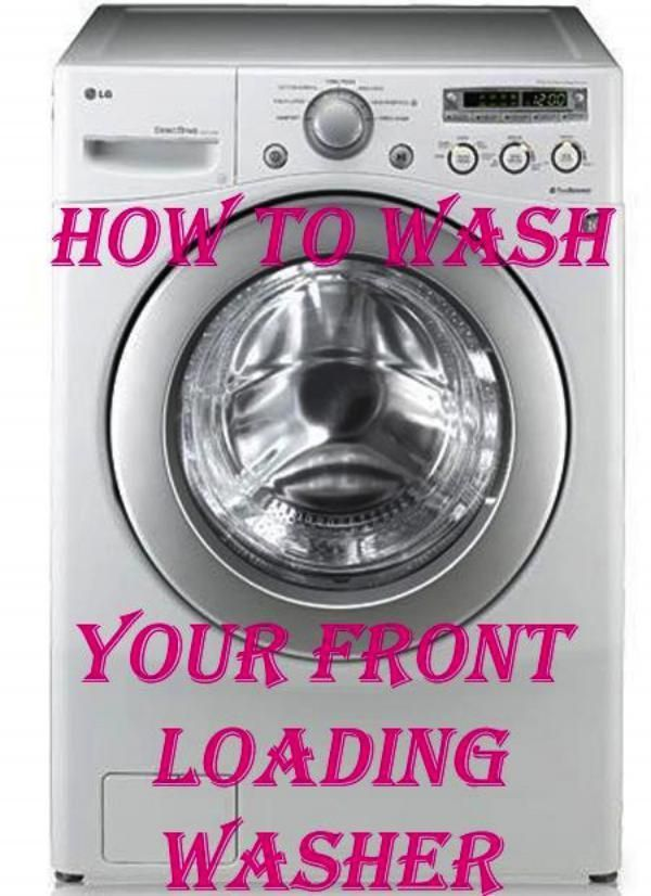 how to clean my he washer