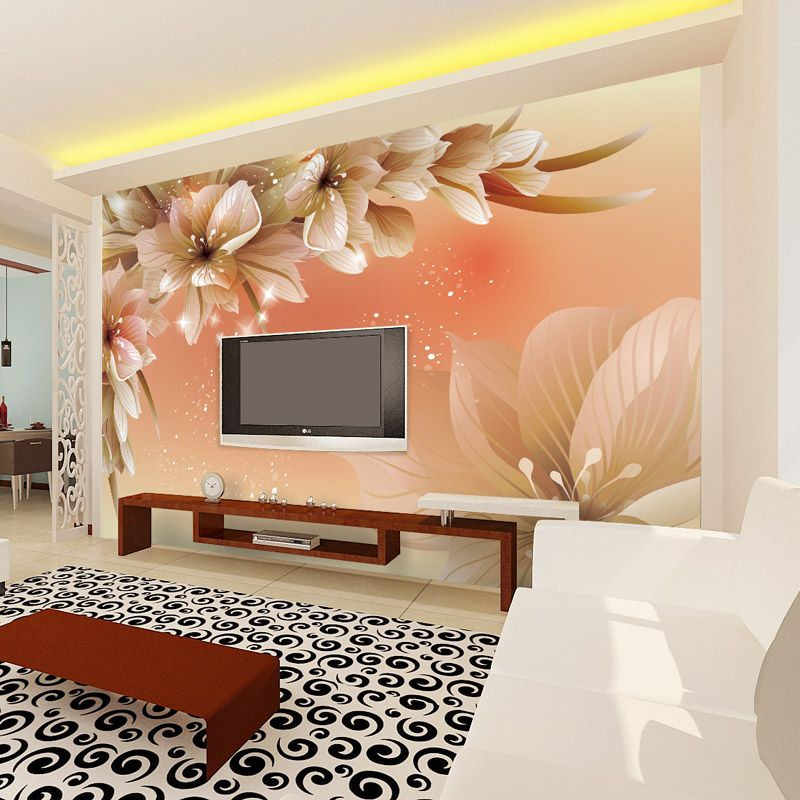 Bedrooms Wall Designs 12 3D Wallpaper For Tv Wall Units That Will Make A Statement