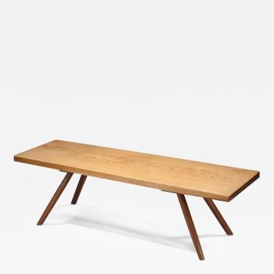 Early Plank Coffee Table, 1945 By George Nakashima