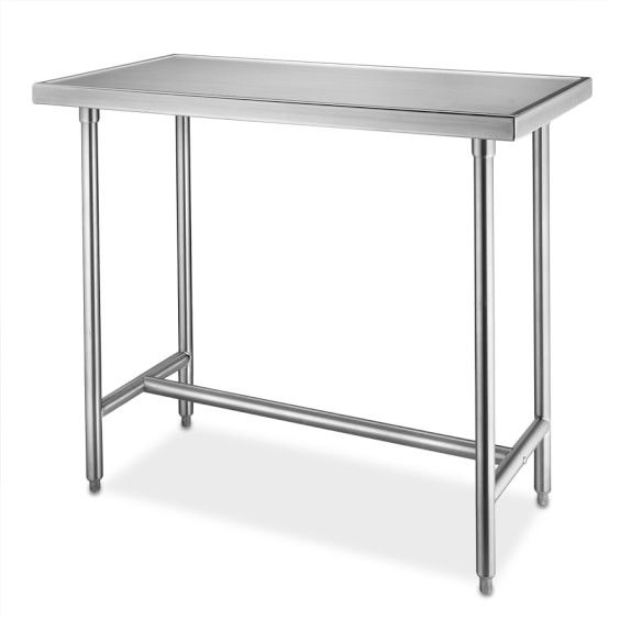 StainlessSteel Chefs Table Ft X X Dining - 4 foot stainless steel table