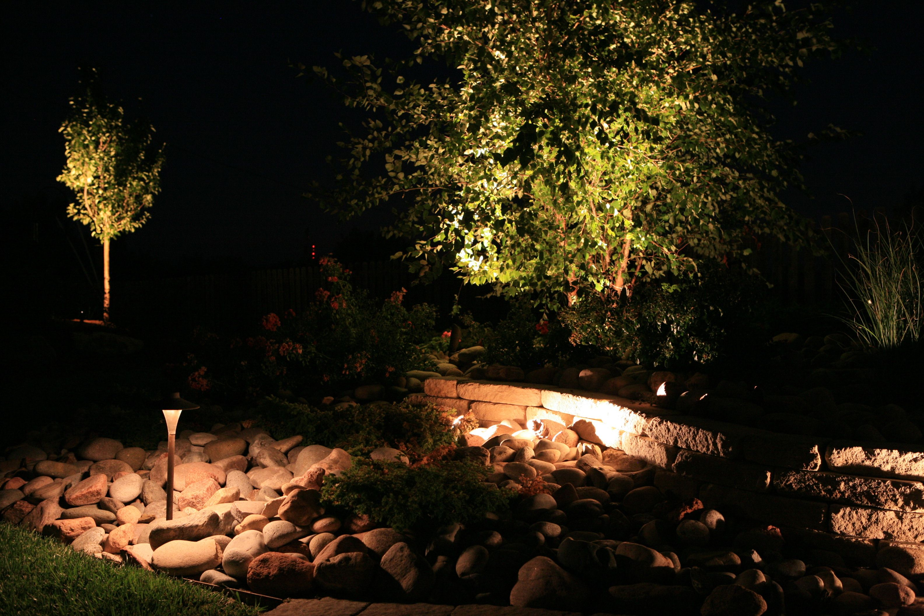 Homepage Nightscaping Outdoor Lighting Lawn Maintenance