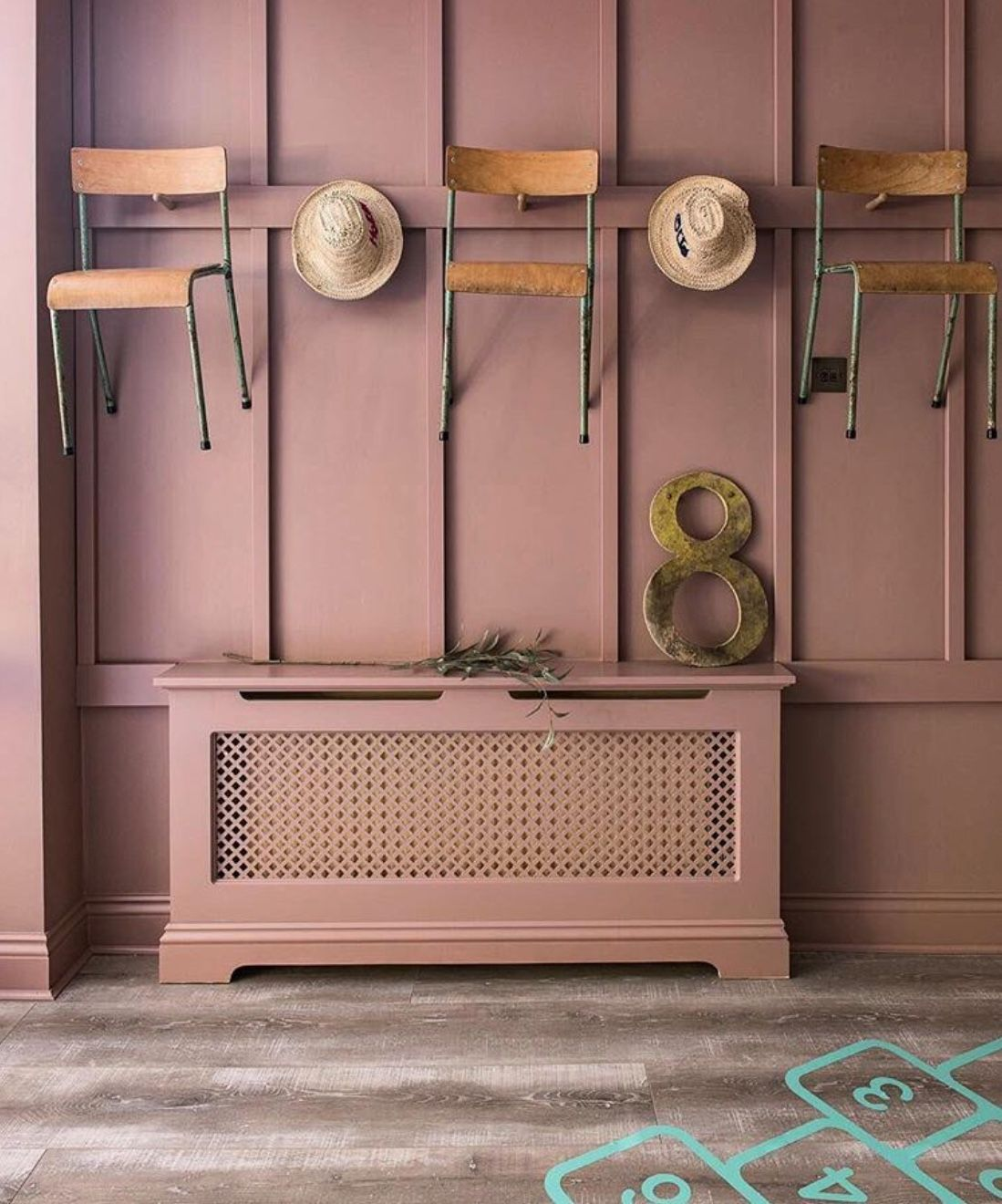 Farrow And Ball Pale Blue Bedroom: Farrow And Ball - Sulking Room Pink