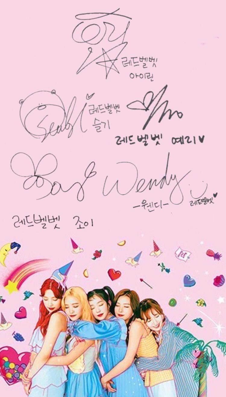 Aesthetic Red Velvet Laptop Wallpaper Sigila Mencurah Pedih