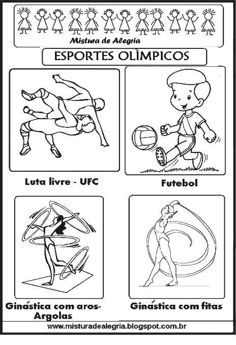 Esportes Olimpicos Para Imprimir Colorir 285 29 Jpg 464 677 Com