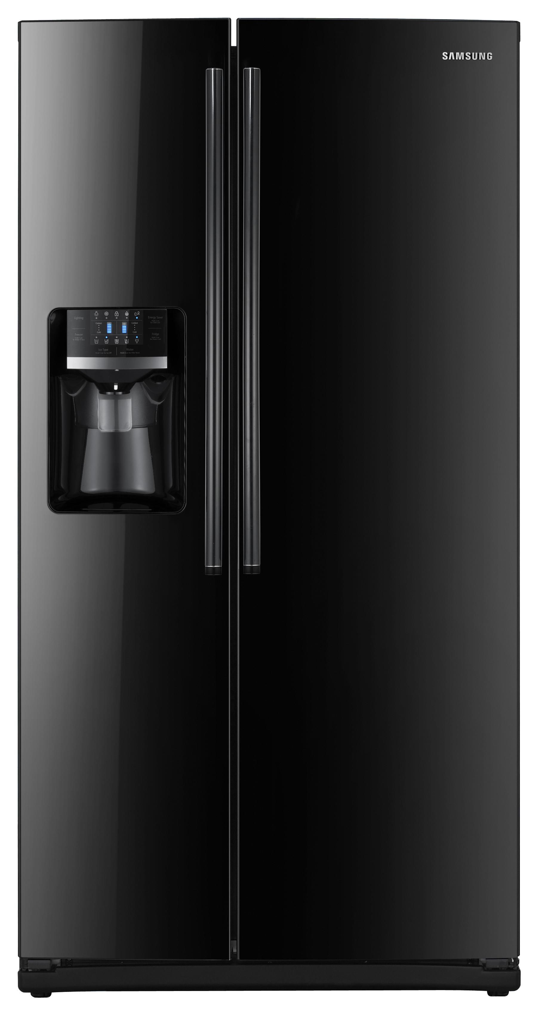 26 Cu Ft Side By Side Refrigerator By Samsung Appliances Is Energy Star Qualified Features Side By Side Refrigerator Samsung Appliances Samsung Refrigerator