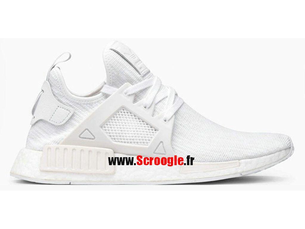 France Boutique Officielle - Adidas Originals S31506 Hommes NMD R1 chaussures de course blanc