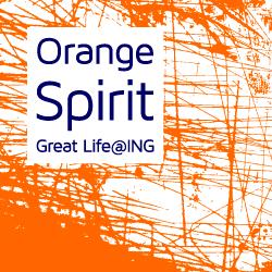 OrangeSpirit is een community binnen ING waar enthousiaste medewerkers hun eigen bijdrage leveren aan een Great Life@ING.