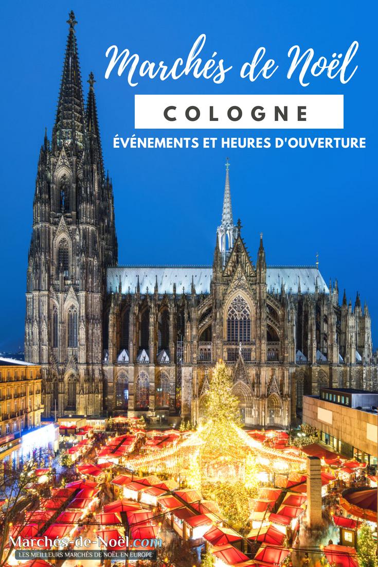Cologne Marché De Noel Marché de Noël Cologne | Marché de noel, Cologne, Allemagne