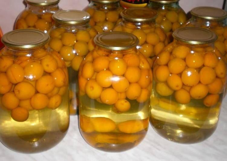 Компот из абрикосов без стерилизации - пошаговый рецепт с ...