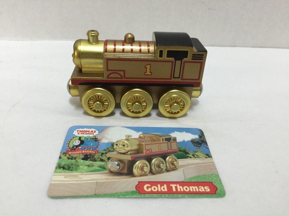 Thomas Friends Wooden Railway Gold Thomas Gullane 2003 Character