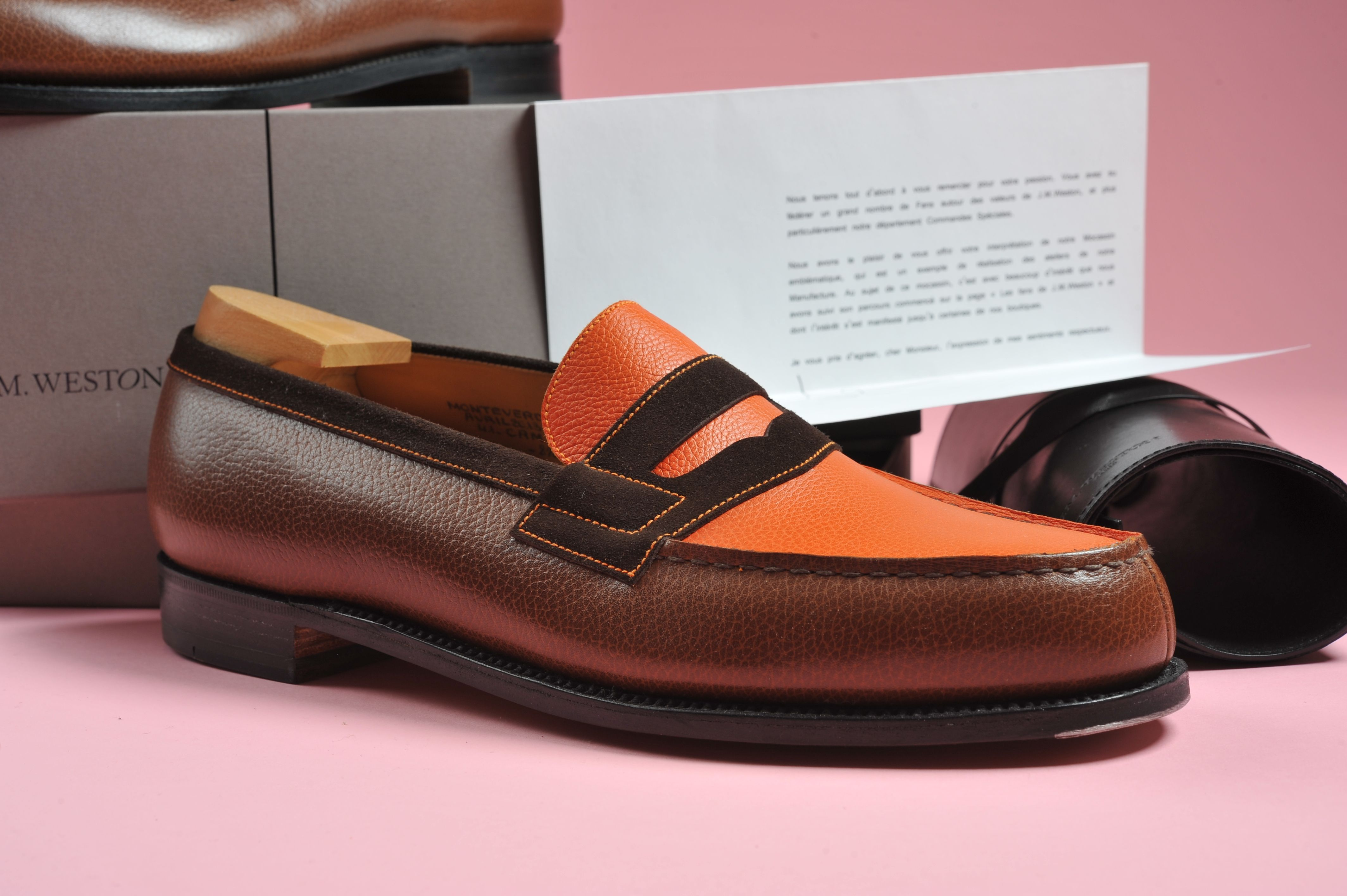 c78c0b25f91 J.M. Weston loafer 180 Safari. Special order.