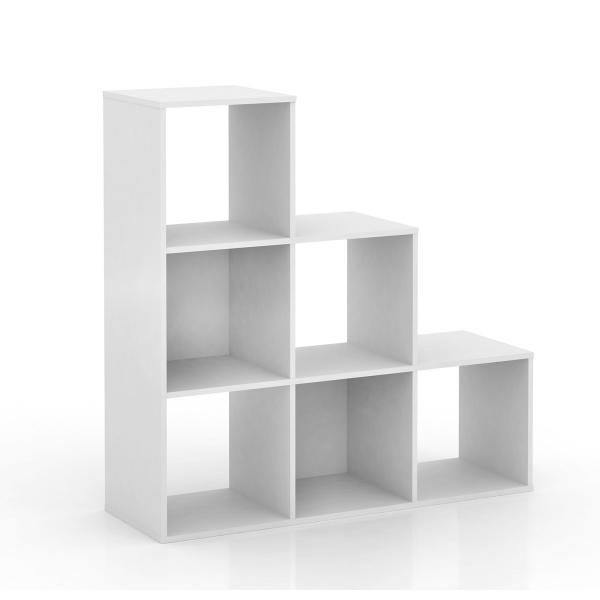 kubix ladder cube storage unit white photo 2