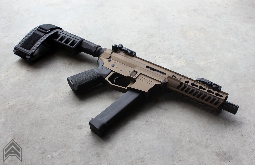 GLOCK 9mm AR-15 PDW | Angstadt Arms UDP-9 | Pew Pew | Pinterest