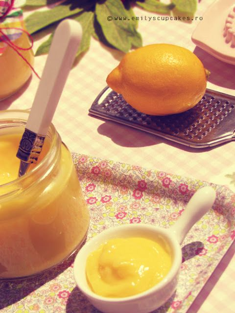 lemon curd - super easy microwave recipe The recipe is in Romanian, so here is the English translation. ~*~*~*~*~*~ Ingredients for about 2 cups: 1 cup white sugar, 3 eggs, 1 cup fresh lemon juice (made from about 5-6 lemons) grated zest of 3 lemons, 1/2 cup unsalted butter, melted! ( My advice is to use organic lemons, just so you can be sure that it is not toxic and treated with who knows what chemical peel!)