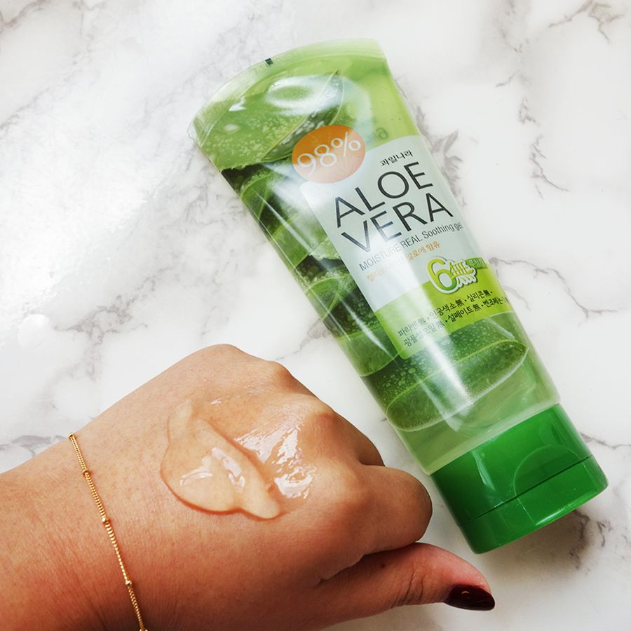 Add It To Your Skincare Routine This Soothing Gel Contains 98 Aloe Vera Extract Moisturize The Face Aloe Vera Skin Care Aloe Vera Gel Aloe Vera Extract