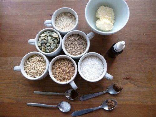 Paleo crackers o galletas de semillas