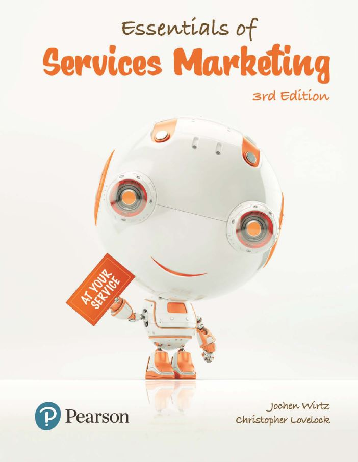 Essentials Of Services Marketing 3rd 3e Jochen Wirtz In 2020 Marketing Services Marketing Ebook