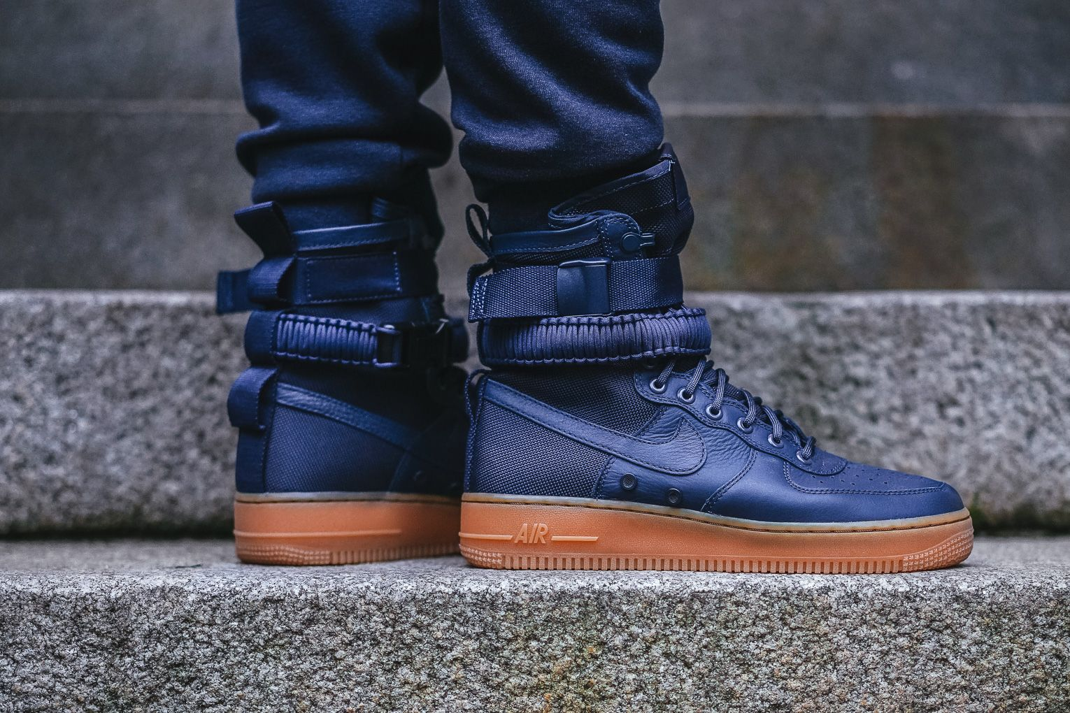 Out Now: Nike SF AF1 High Midnight Navy | Nike sf af1, Nike