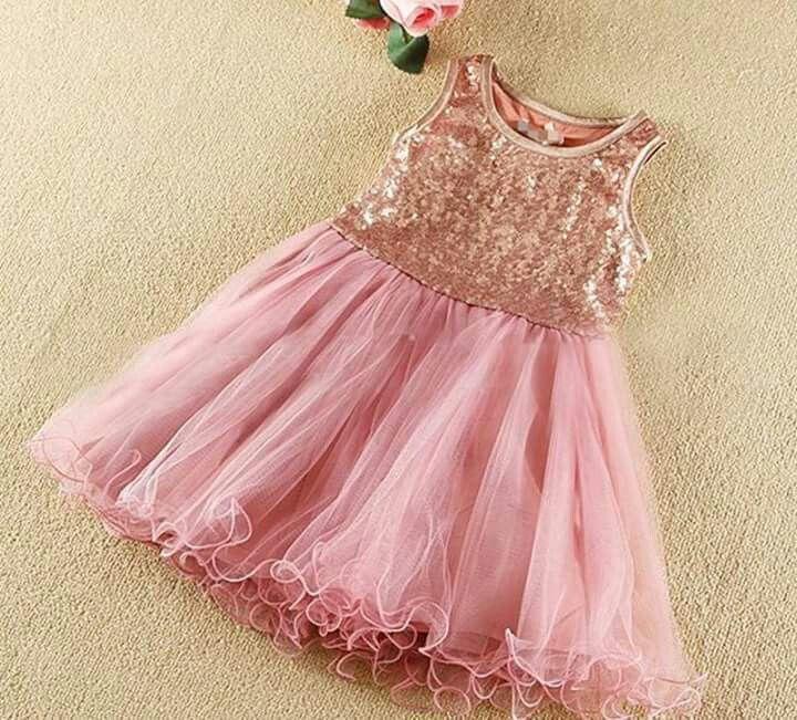 Vestido rosa y lentejuela | COSTURAS | Pinterest | Vestido rosado ...