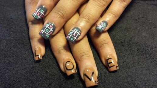 Scrabble Nail Art Nailsbystacey Pinterest Scrabble