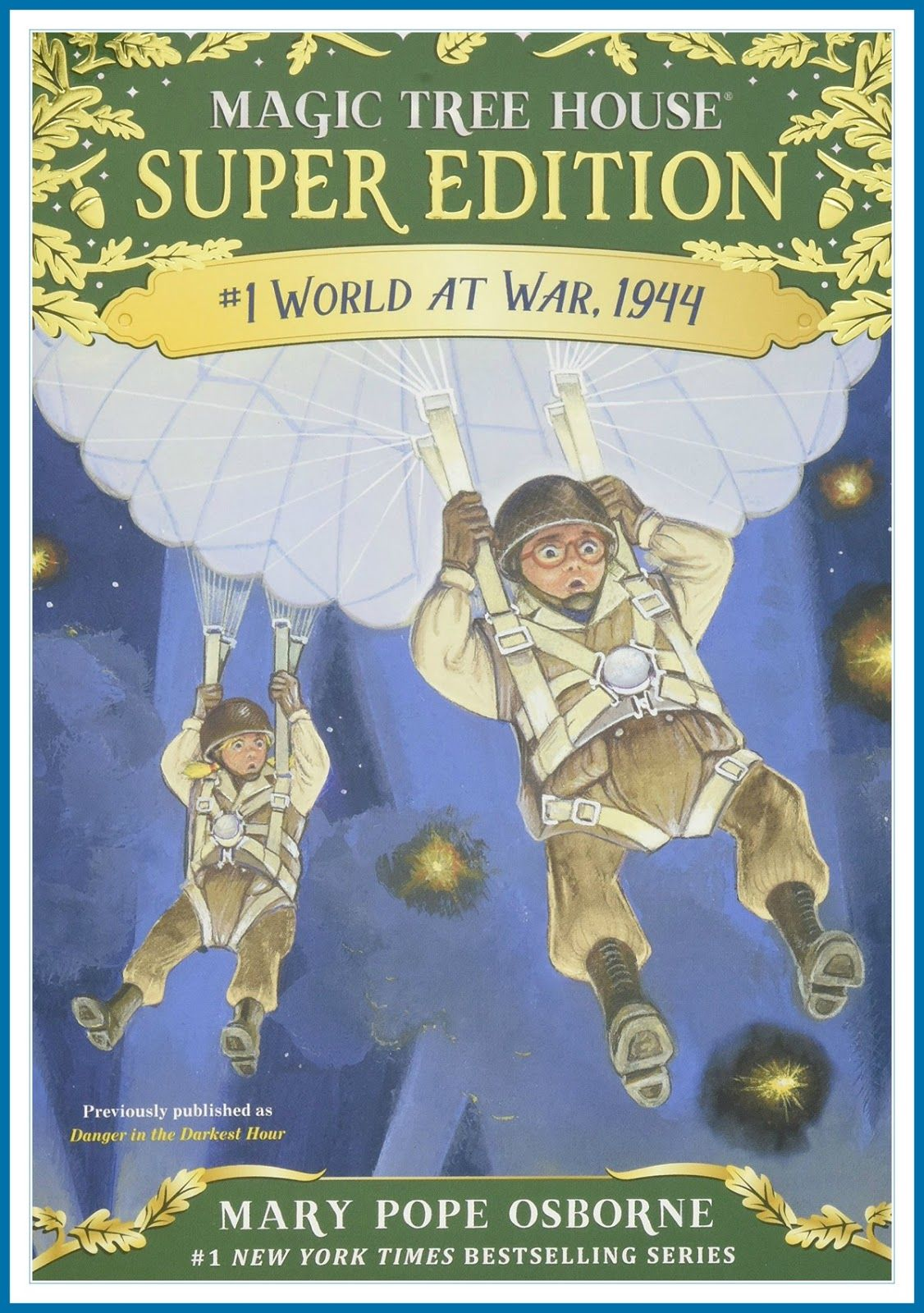 World At War 1944 Review Of A Magic Tree House Super Edition