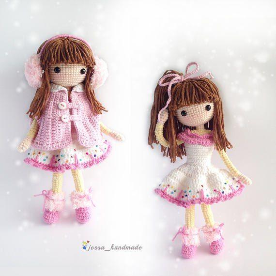 Pin de Serena Crobu en Crochet dolls | Pinterest | Muñecos de ...