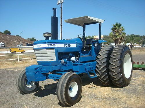 Ford 3000 Tractor Duals : Ford tw hp duals points pto clean rust free ex