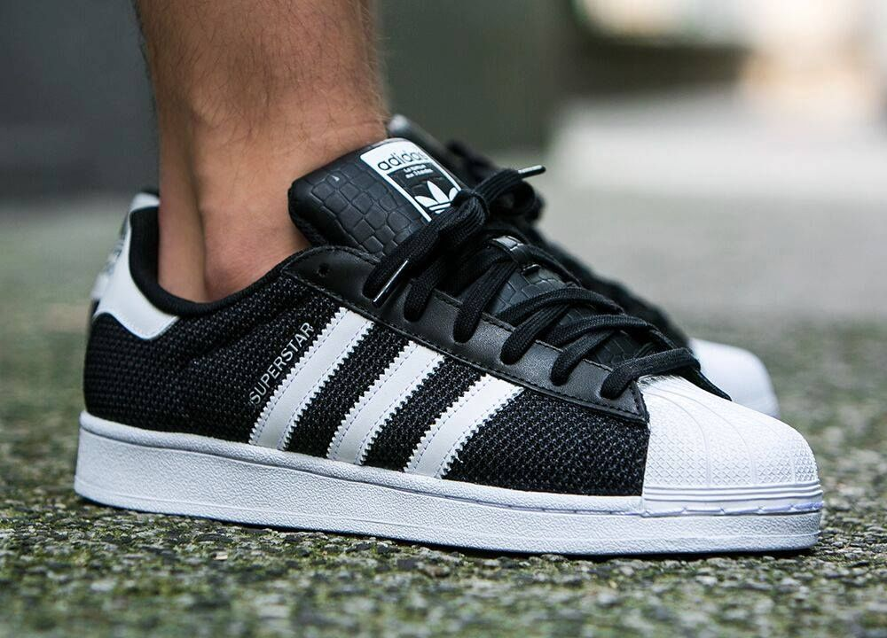 Adidas Superstar Circular Knit - Core Black (by worldbox) Available at ASOS  / Finishline