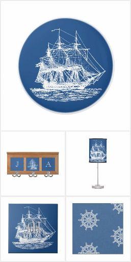 Tall Ships Nautical Home Decor