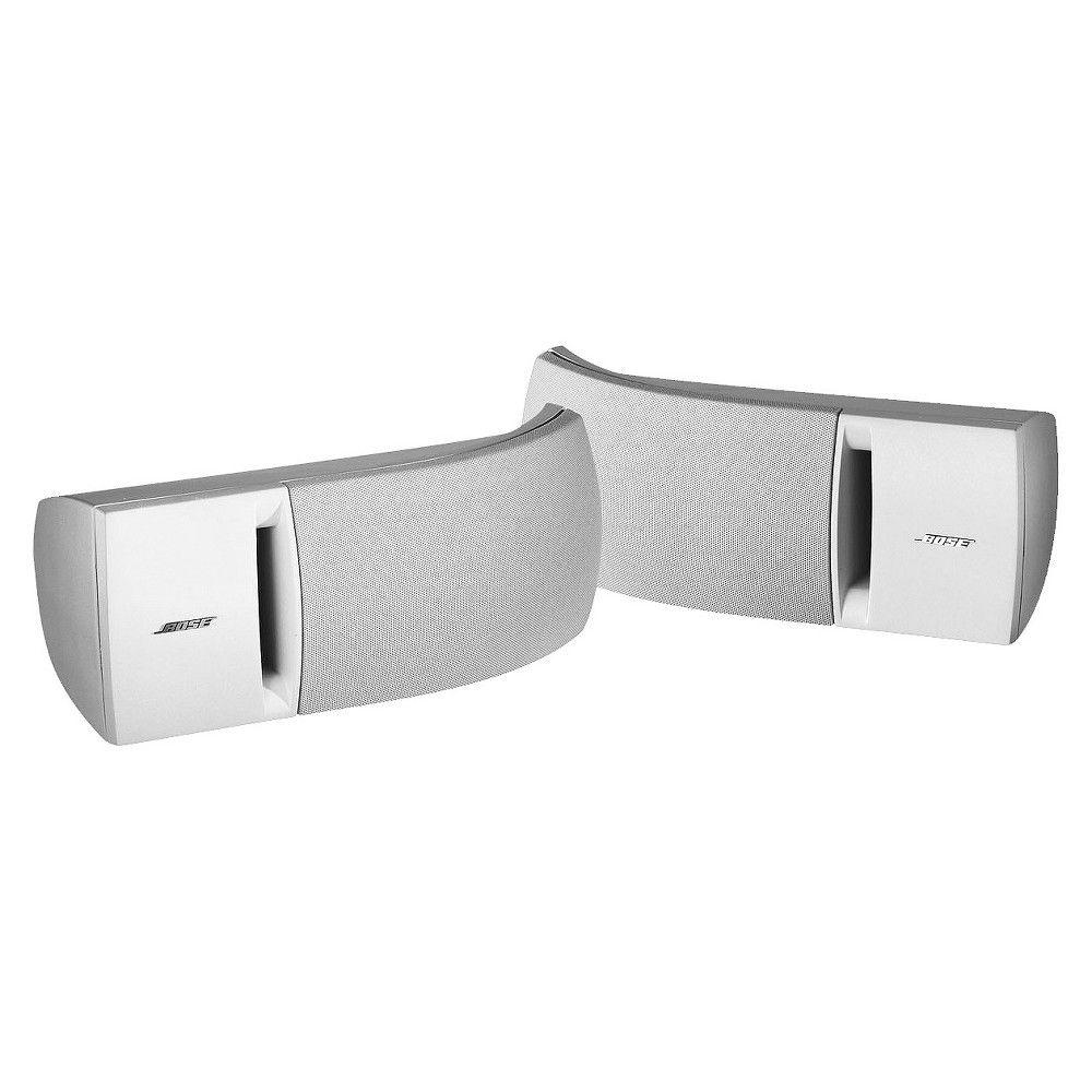 Bose 161 Indoor Speaker System White 27028 Speaker System Bose Speaker