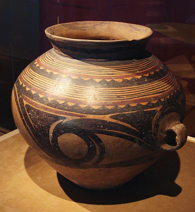 cmoc treasures of ancient china exhibit painted jar