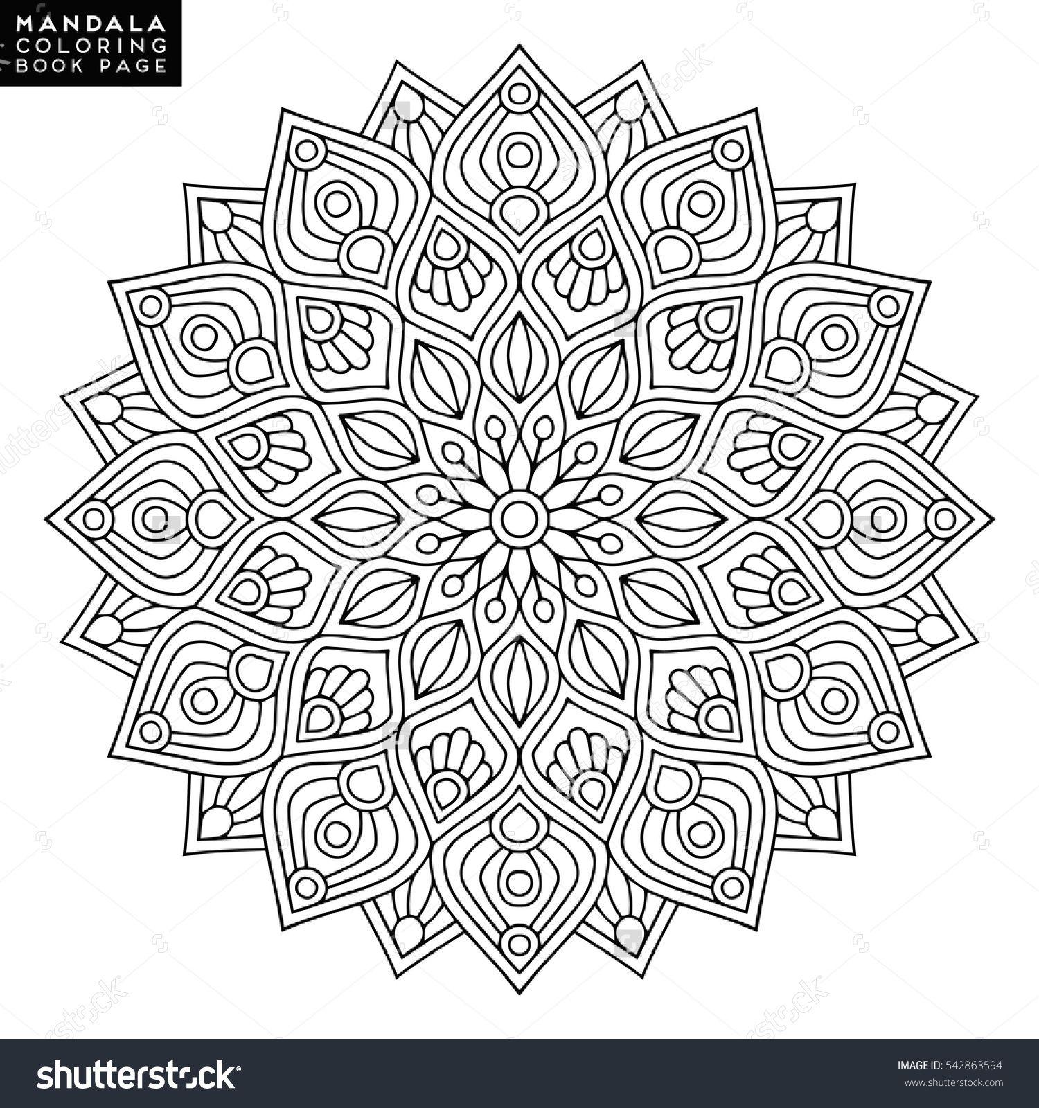 Flower Mandalas. Vintage mandalas, elements mandala. Oriental ...