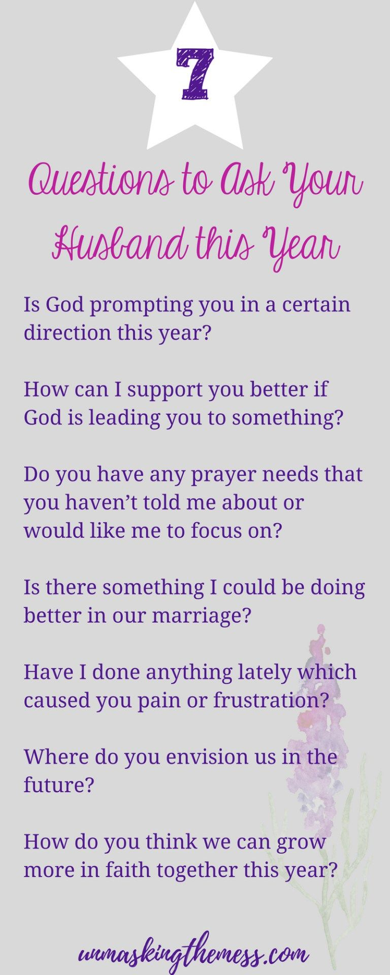 questions to ask future spouse
