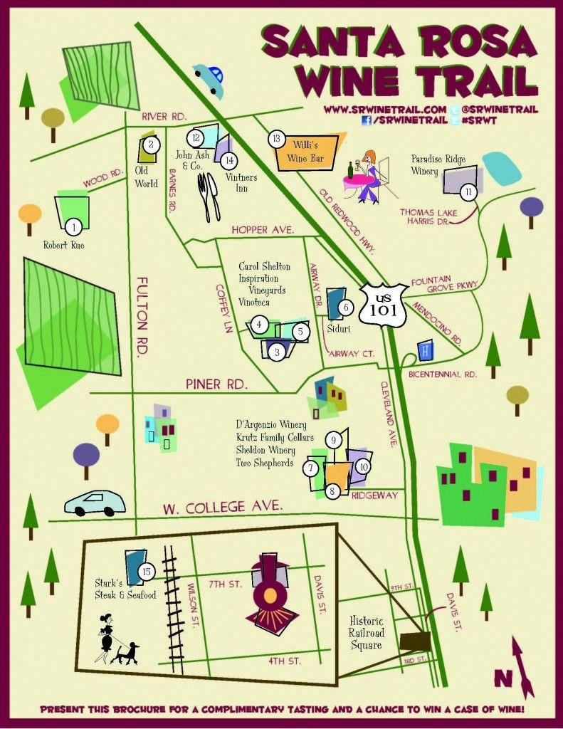 Santa Rosa Wine Trail | Santa Rosa's Premier Artisan
