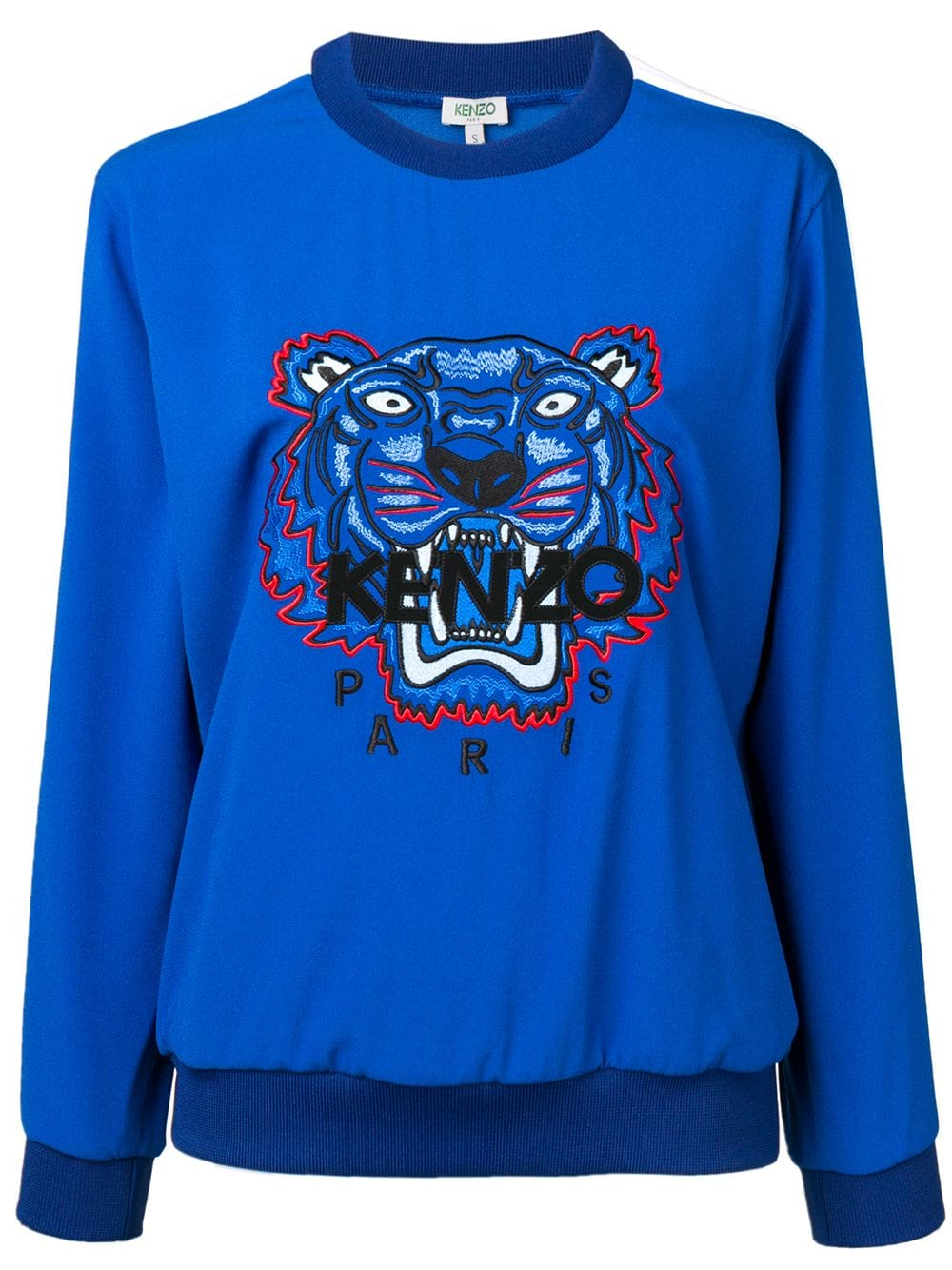 f253d00df5 Kenzo Tiger panelled sweatshirt - Blue in 2019   Products   Kenzo ...