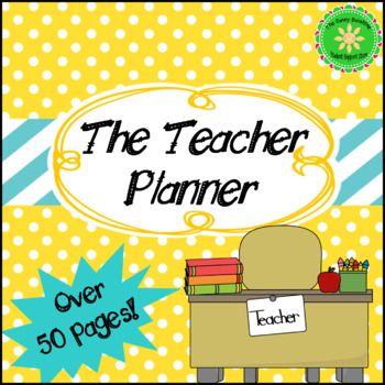 Back To School- Teacher Calendar, Binder, Dividers Binder dividers