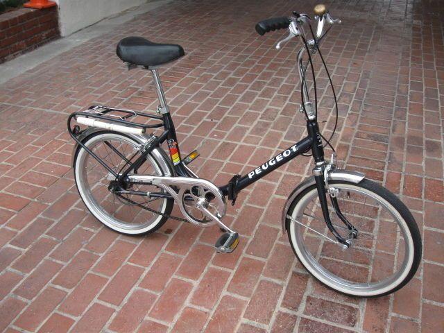 "vintage 20"" peugeot folding bicycle 3 speed sturmey archer, a beauty"