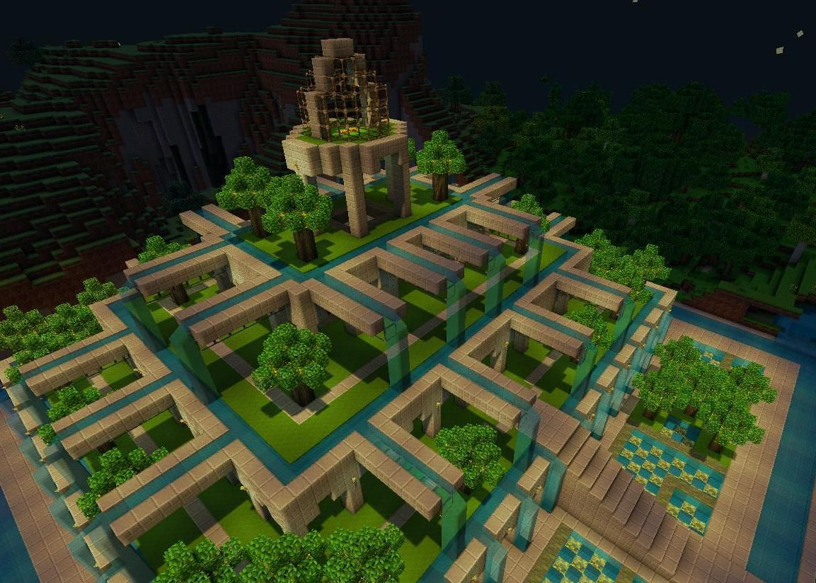 Beautiful Minecraft Garden Ideas