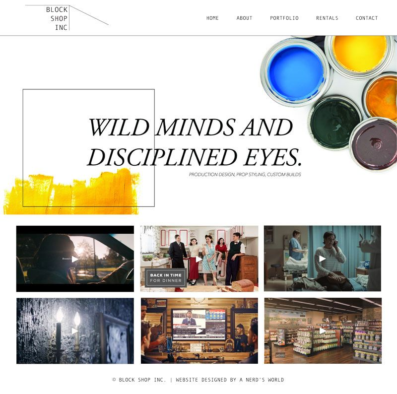 Wordpress Website Designer Toronto A Nerd's World Top