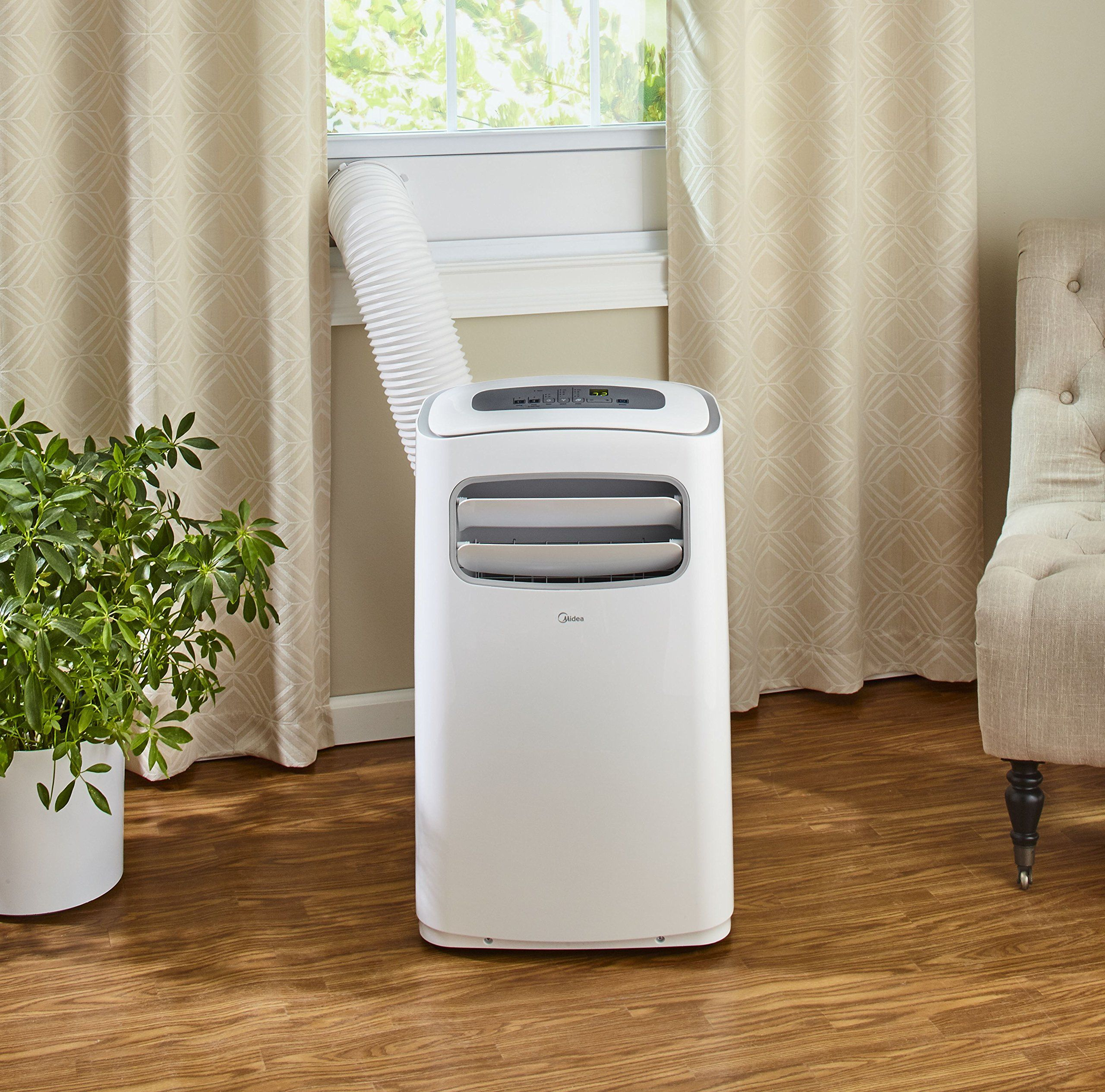 Image result for midea portable air conditioner - 10,000 btu capacity