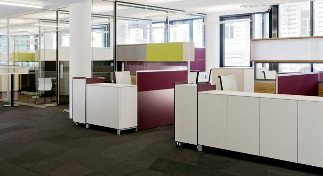 German Office Furniture Interior Design