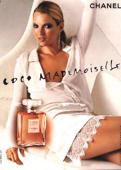 Coco Mademoiselle by Chanel with Kate Moss (2003).