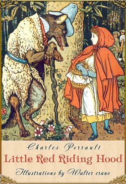 Fairy Tales Book Covers Red Riding Hood Walter Crane Fairytale