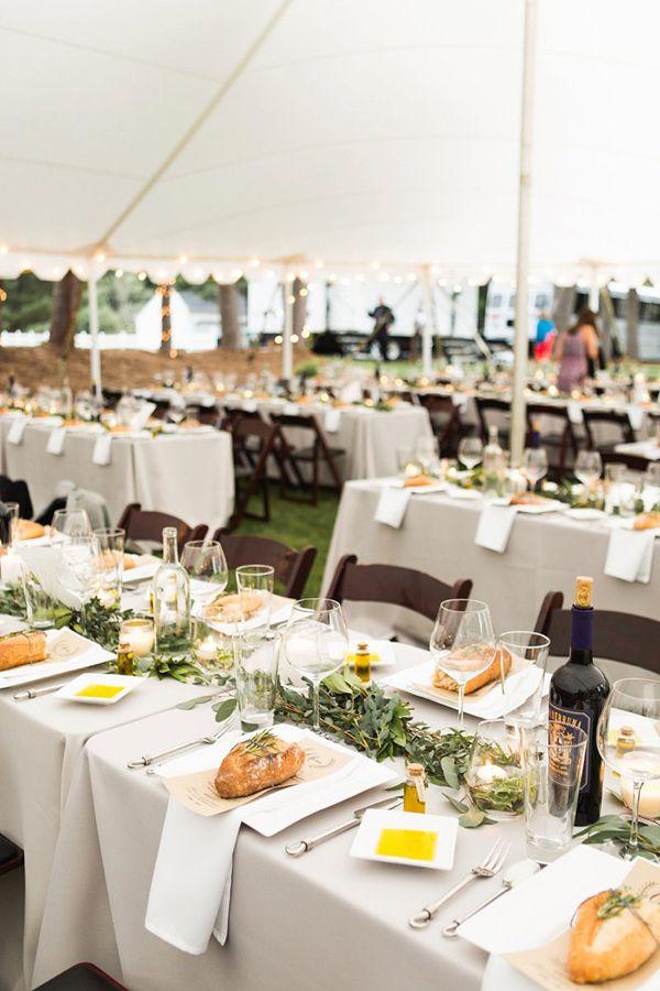 Italian Inspired Backyard Wedding