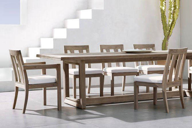 A Dining Table And Chairs. Photo Courtesy Of RH Restoration Hardware