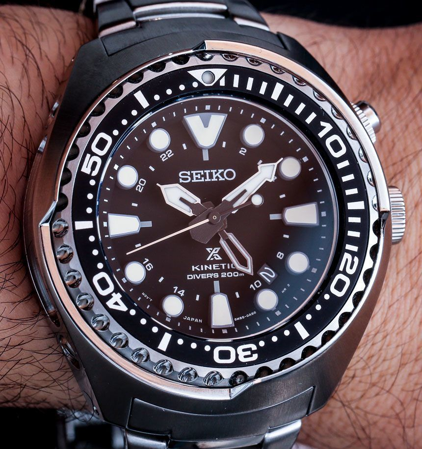 e1310430b555c Seiko Prospex Kinetic GMT Diver s 200m Watch Hands-On Hands-On ...