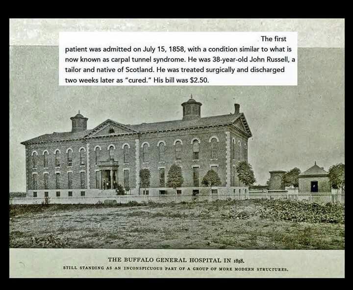 Bgh In 1858 Buffalo New York History In 2019 Buffalo Art