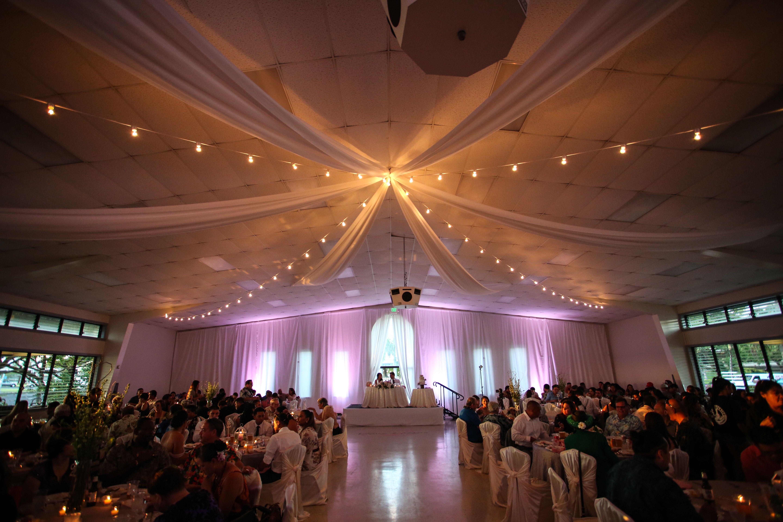 Hall Transformation Wedding Reception