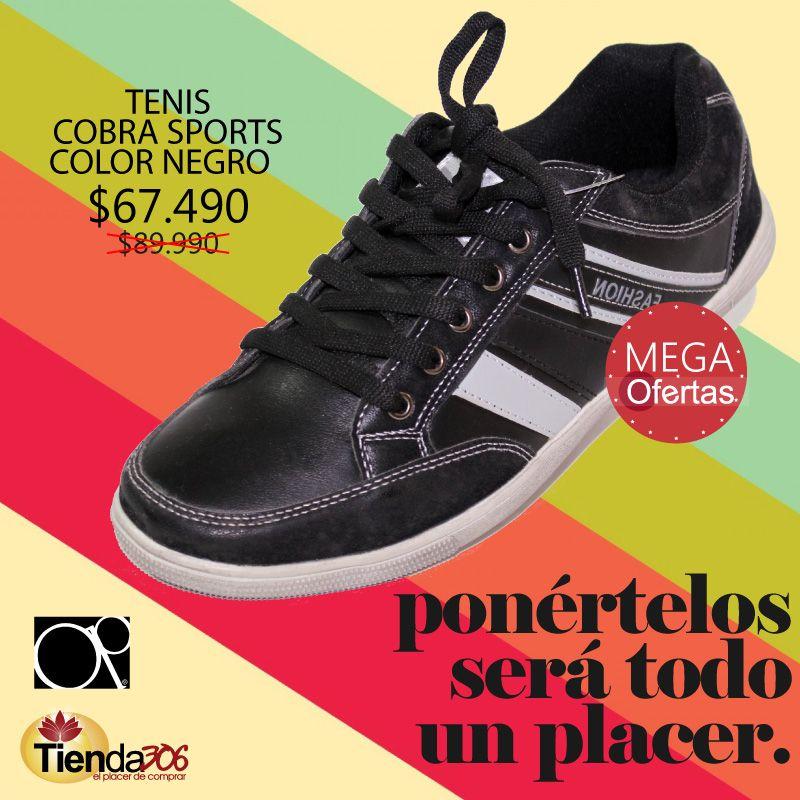 67c72f942c Tenis Cobra Sports - Ponértelos será todo un placer. ¡APROVECHA LAS MEGA  OFERTAS!